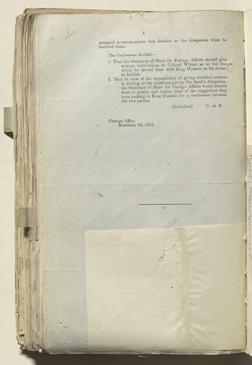 File 2182/1913 Pt 10 'N.W. Frontier: Proposed Russian zoological expedition' [‎246v] (84/664)