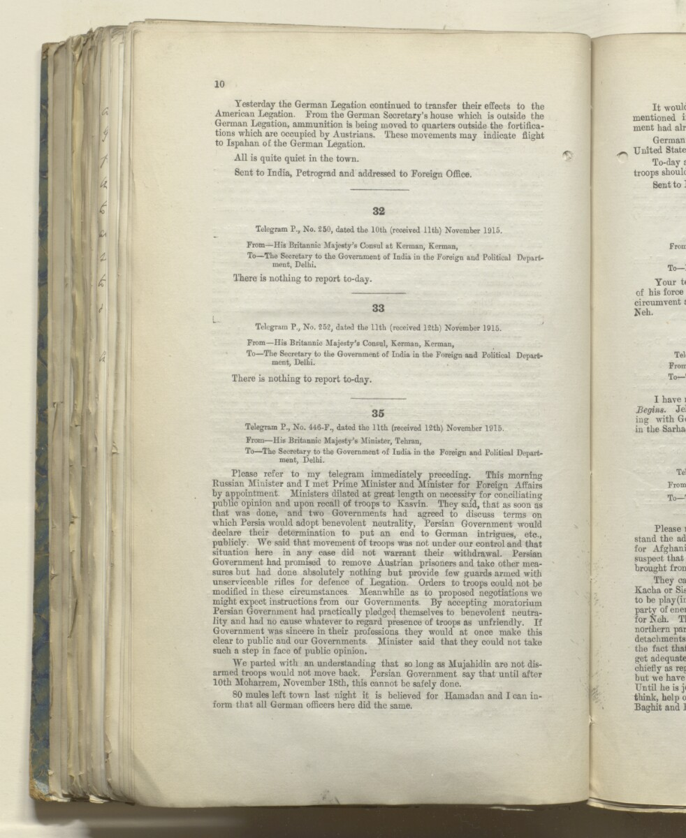 File 469/1917 Pt 1 'Persia: Bakhtiari affairs' [212v] (436/535)
