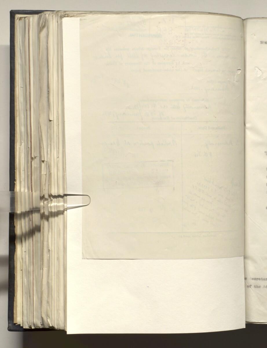 File 4011/1923 Pt 1 'PERSIAN GULF NEGOTIATIONS 1928-33. BASIDU.' [309v] (623/1306)