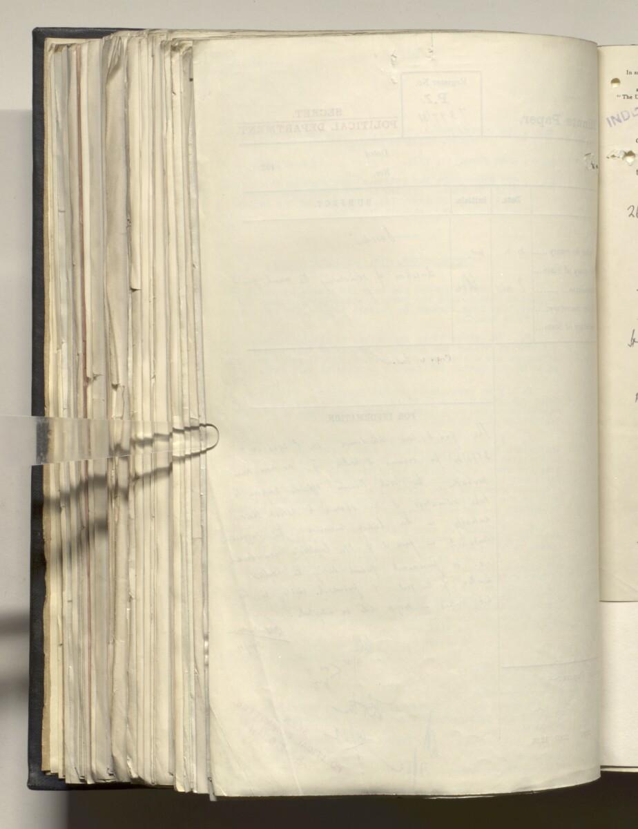 File 4011/1923 Pt 1 'PERSIAN GULF NEGOTIATIONS 1928-33. BASIDU.' [323v] (651/1306)