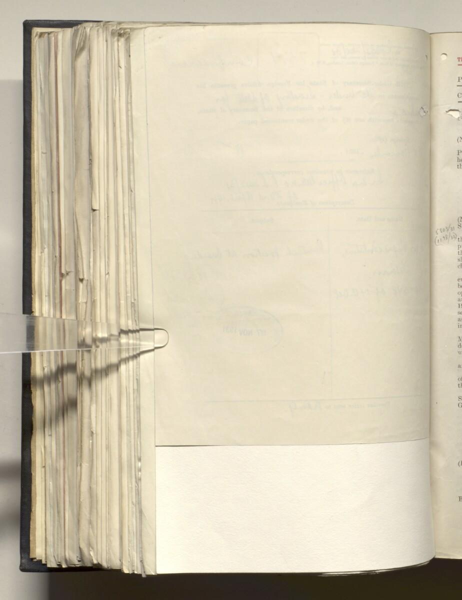 File 4011/1923 Pt 1 'PERSIAN GULF NEGOTIATIONS 1928-33. BASIDU.' [324v] (653/1306)