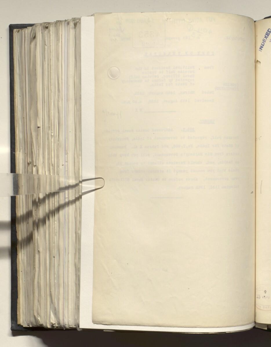 File 4011/1923 Pt 1 'PERSIAN GULF NEGOTIATIONS 1928-33. BASIDU.' [564v] (1133/1306)