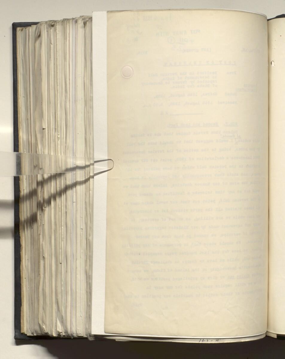 File 4011/1923 Pt 1 'PERSIAN GULF NEGOTIATIONS 1928-33. BASIDU.' [567v] (1139/1306)