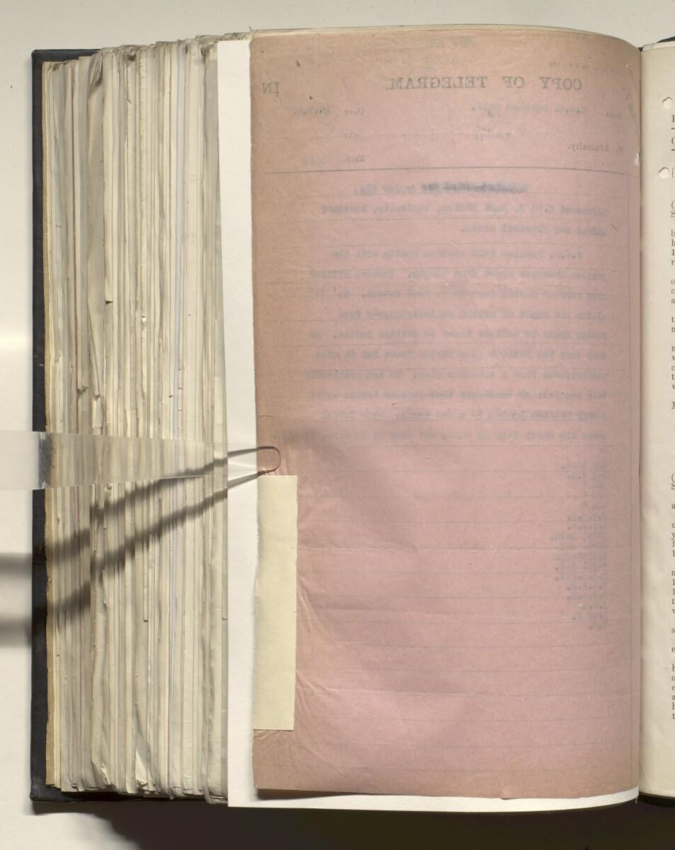 File 4011/1923 Pt 1 'PERSIAN GULF NEGOTIATIONS 1928-33. BASIDU.' [573v] (1151/1306)
