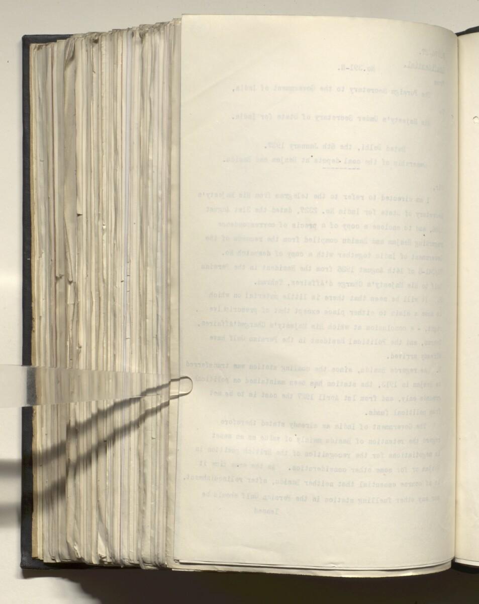 File 4011/1923 Pt 1 'PERSIAN GULF NEGOTIATIONS 1928-33. BASIDU.' [598v] (1201/1306)