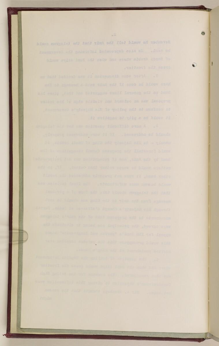 Coll 6/36(1) 'Transjordan-Nejd Frontier Affairs.' [4v] (19/932)