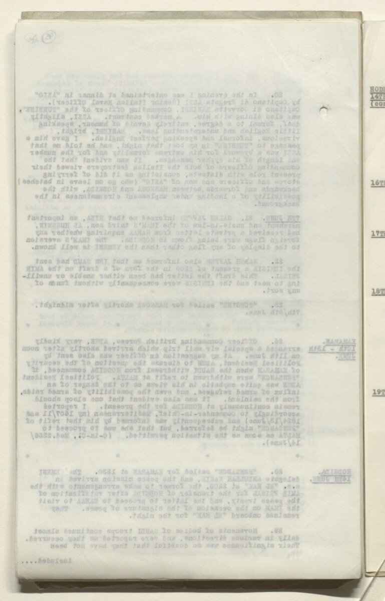 Coll 6/65 'Relations between Saudi-Arabia and the Yemen.' [‎95v] (190/917)