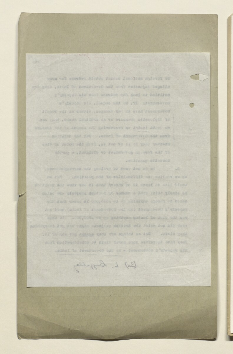 "Coll 28/95 'Persia. Relations with H.M.G. Private claims against H.M.G.: case of the S.S. ""Kara Deniz"".' [‎9v] (18/691)"