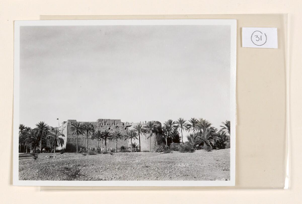 'No.12. Hazam Fort South View.' [31r] (1/2)