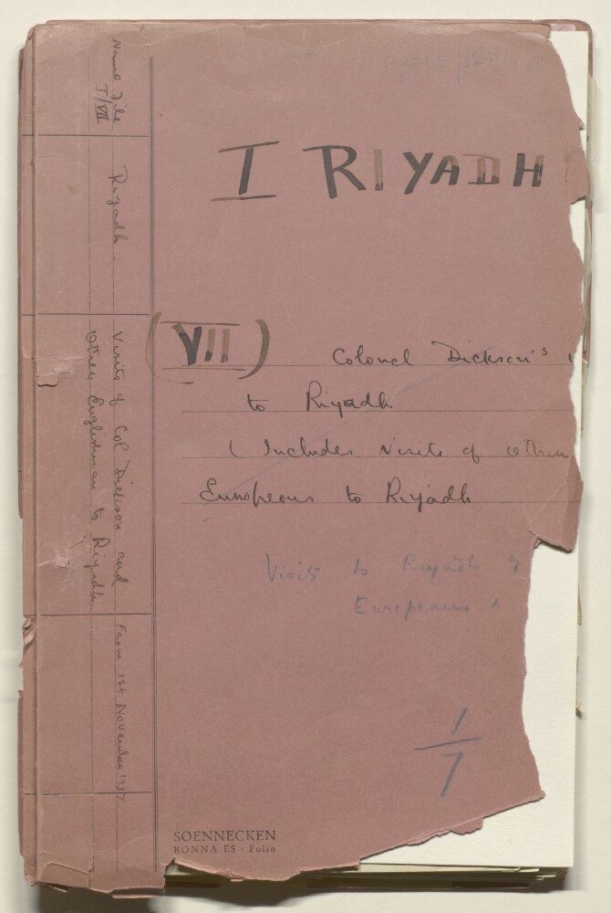 "<bdi class=""metadata-value"">'I Riyadh (VII) Colonel Dickson's v[isit] to Riyadh (Includes visits of other Europeans to Riyadh'</bdi>"