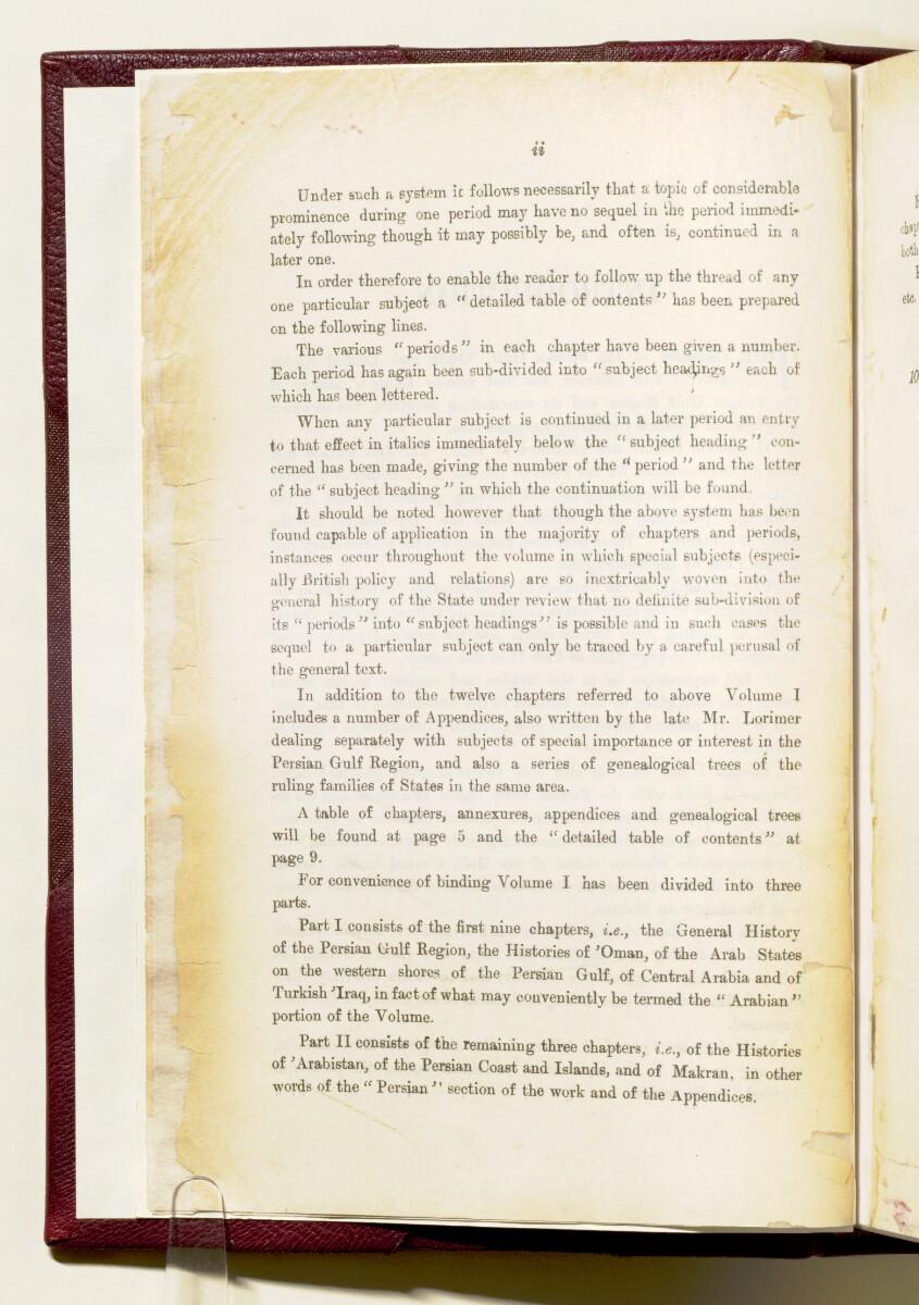 'Gazetteer of the Persian Gulf. Vol I. Historical. Part IA & IB. J G Lorimer. 1915' [2] (15/1782)