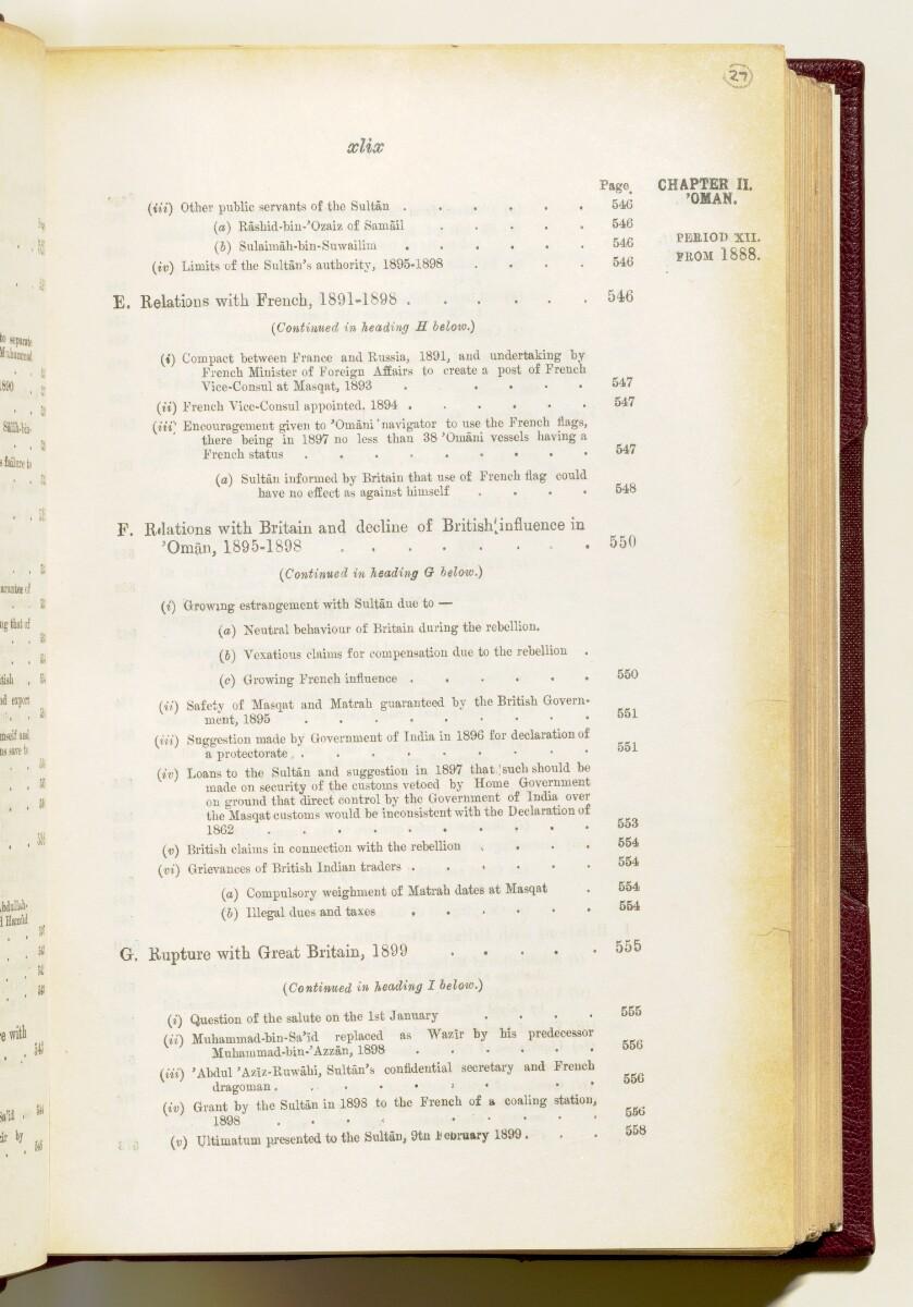 'Gazetteer of the Persian Gulf. Vol I. Historical. Part IA & IB. J G Lorimer. 1915' [49] (62/1782)