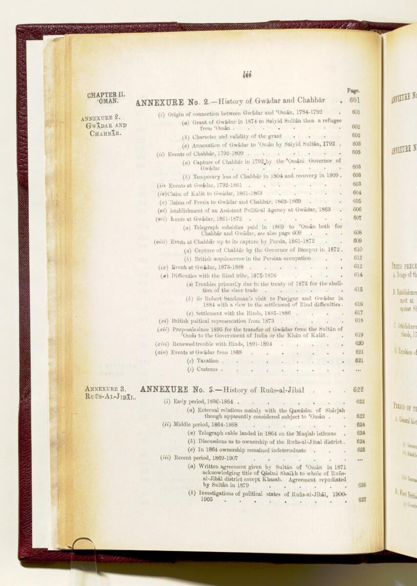 'Gazetteer of the Persian Gulf. Vol I. Historical. Part IA & IB. J G Lorimer. 1915' [52] (65/1782)