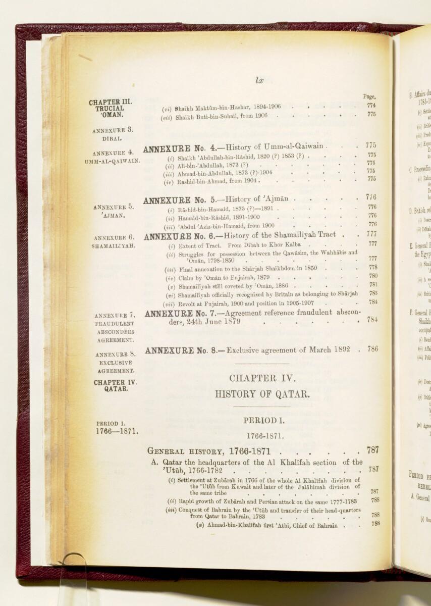 'Gazetteer of the Persian Gulf. Vol I. Historical. Part IA & IB. J G Lorimer. 1915' [60] (73/1782)