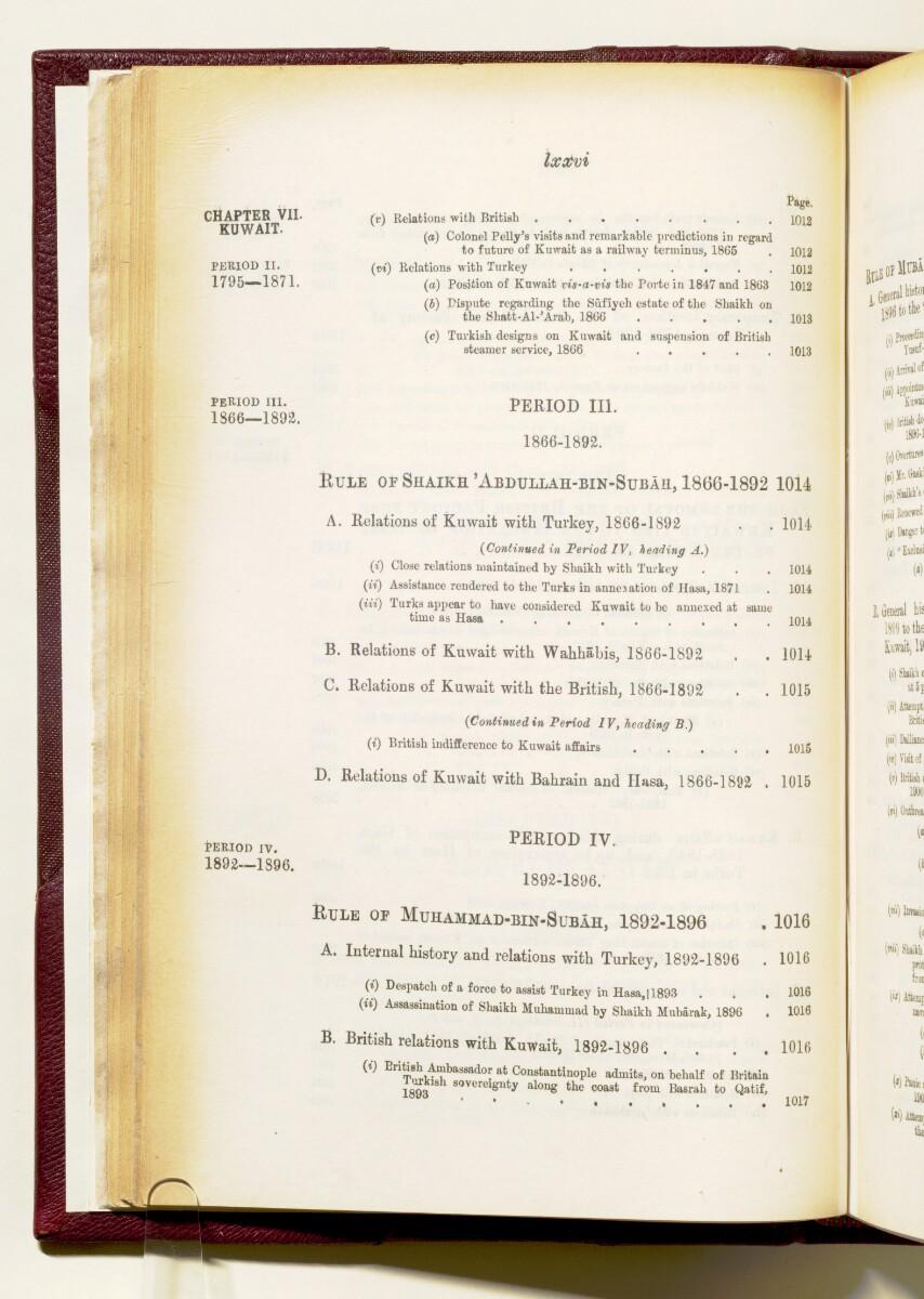 'Gazetteer of the Persian Gulf. Vol I. Historical. Part IA & IB. J G Lorimer. 1915' [76] (89/1782)