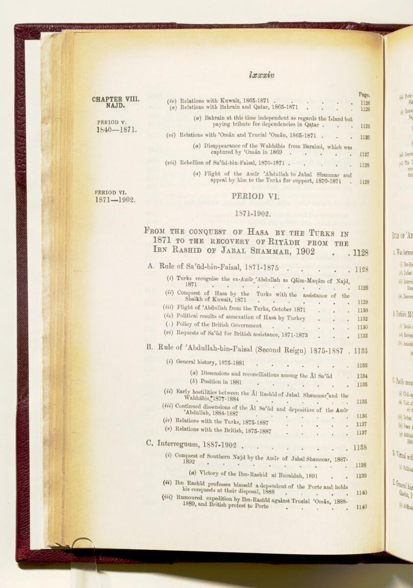 'Gazetteer of the Persian Gulf. Vol I. Historical. Part IA & IB. J G Lorimer. 1915' [84] (97/1782)