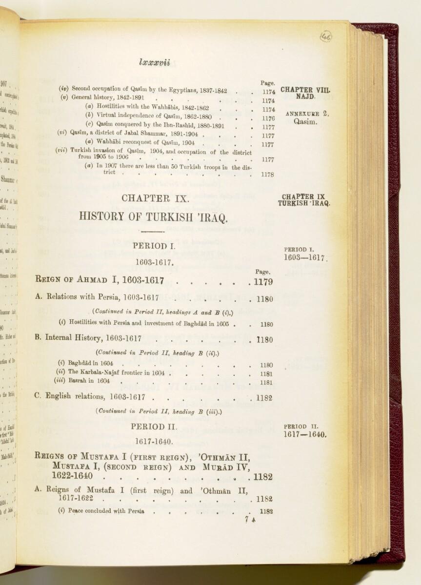 'Gazetteer of the Persian Gulf. Vol I. Historical. Part IA & IB. J G Lorimer. 1915' [87] (100/1782)