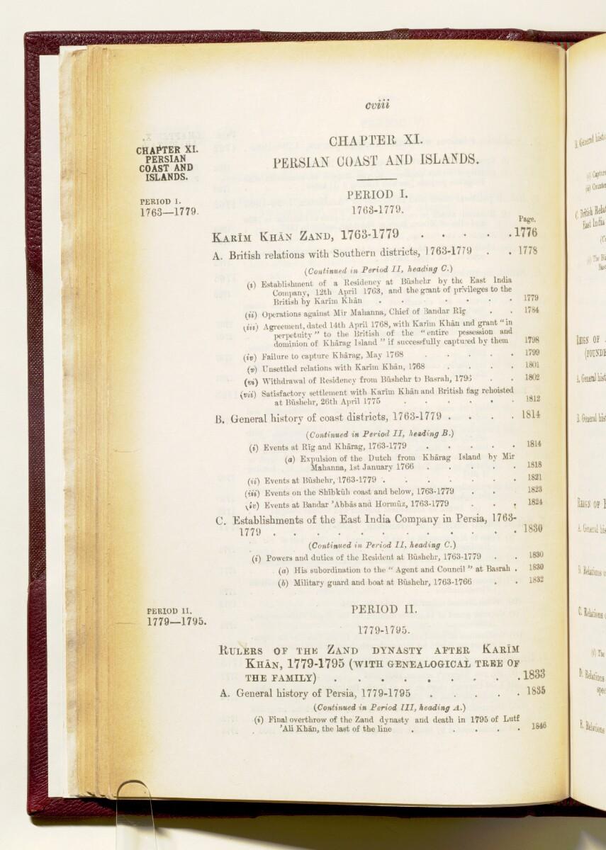 'Gazetteer of the Persian Gulf. Vol I. Historical. Part IA & IB. J G Lorimer. 1915' [108] (121/1782)