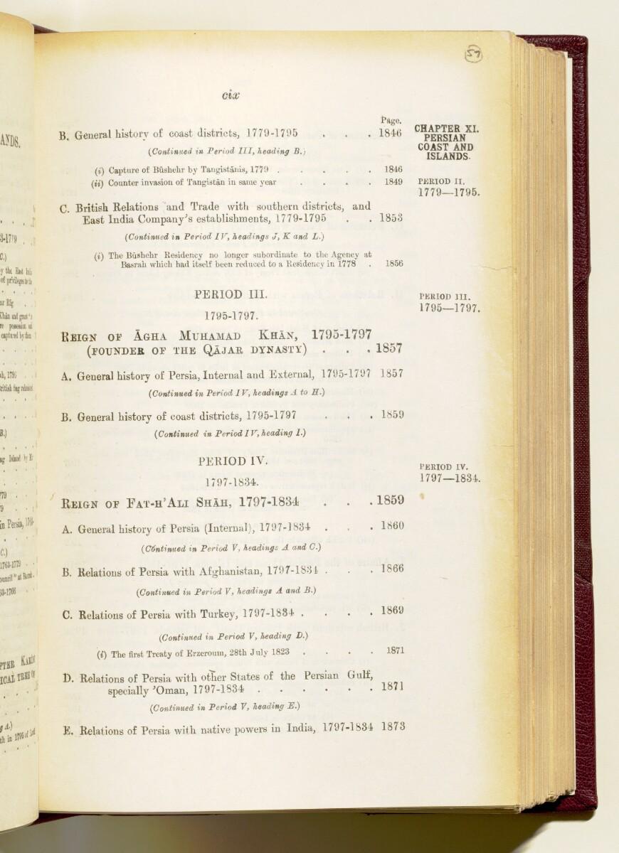 'Gazetteer of the Persian Gulf. Vol I. Historical. Part IA & IB. J G Lorimer. 1915' [109] (122/1782)