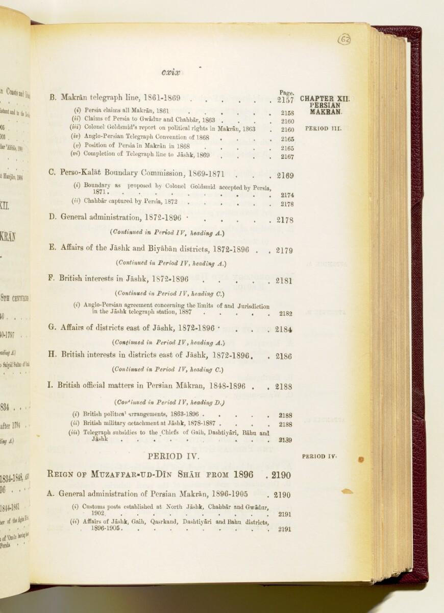 'Gazetteer of the Persian Gulf. Vol I. Historical. Part IA & IB. J G Lorimer. 1915' [119] (132/1782)
