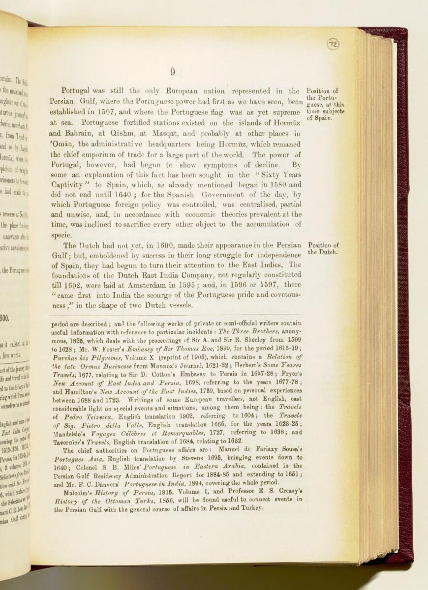 'Gazetteer of the Persian Gulf. Vol I. Historical. Part IA & IB. J G Lorimer. 1915' [9] (152/1782)