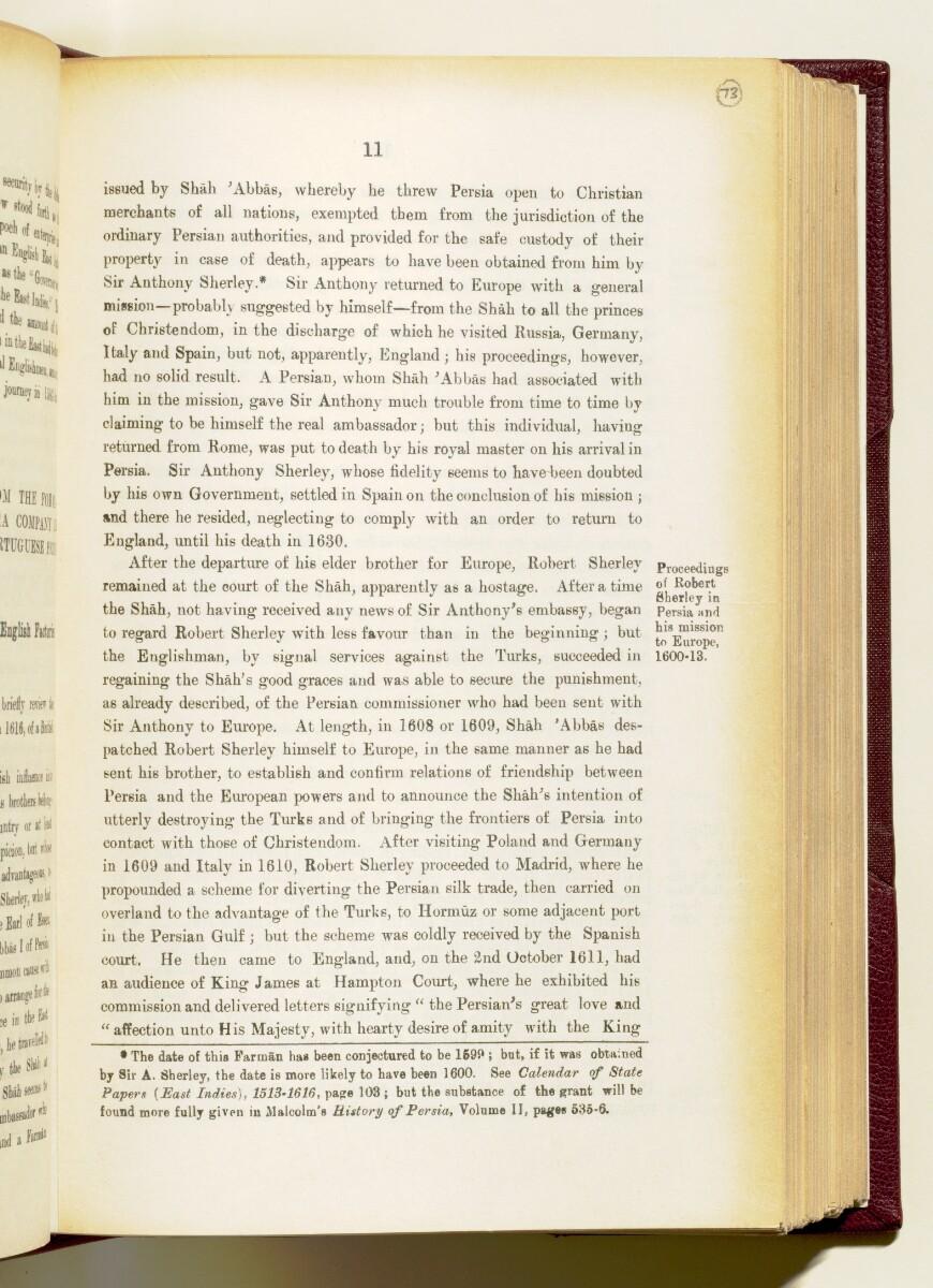 'Gazetteer of the Persian Gulf. Vol I. Historical. Part IA & IB. J G Lorimer. 1915' [11] (154/1782)