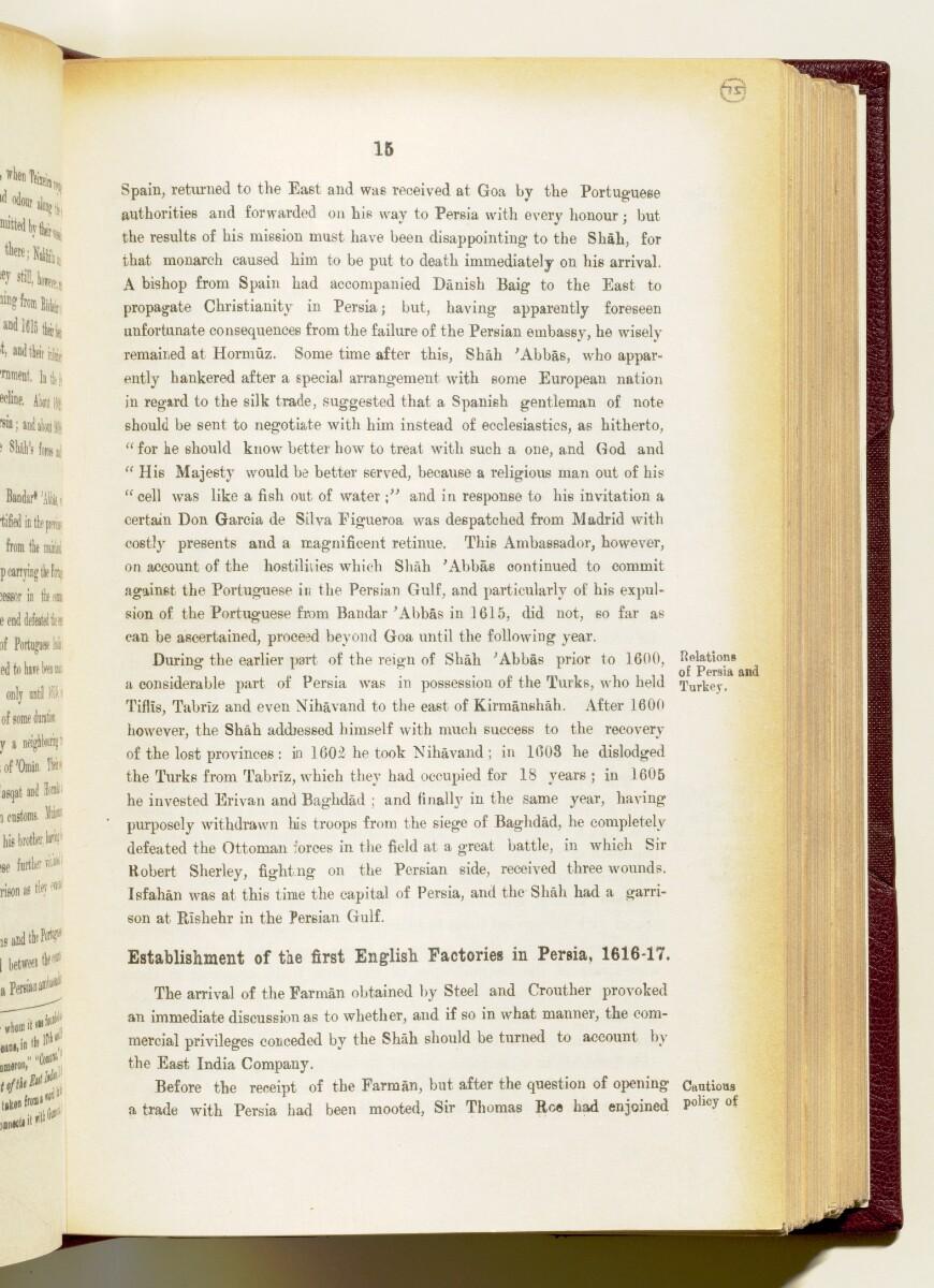 'Gazetteer of the Persian Gulf. Vol I. Historical. Part IA & IB. J G Lorimer. 1915' [15] (158/1782)