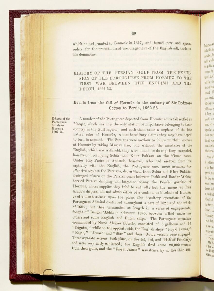 'Gazetteer of the Persian Gulf. Vol I. Historical. Part IA & IB. J G Lorimer. 1915' [28] (171/1782)