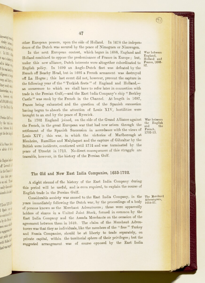 'Gazetteer of the Persian Gulf. Vol I. Historical. Part IA & IB. J G Lorimer. 1915' [‎47] (190/1782)