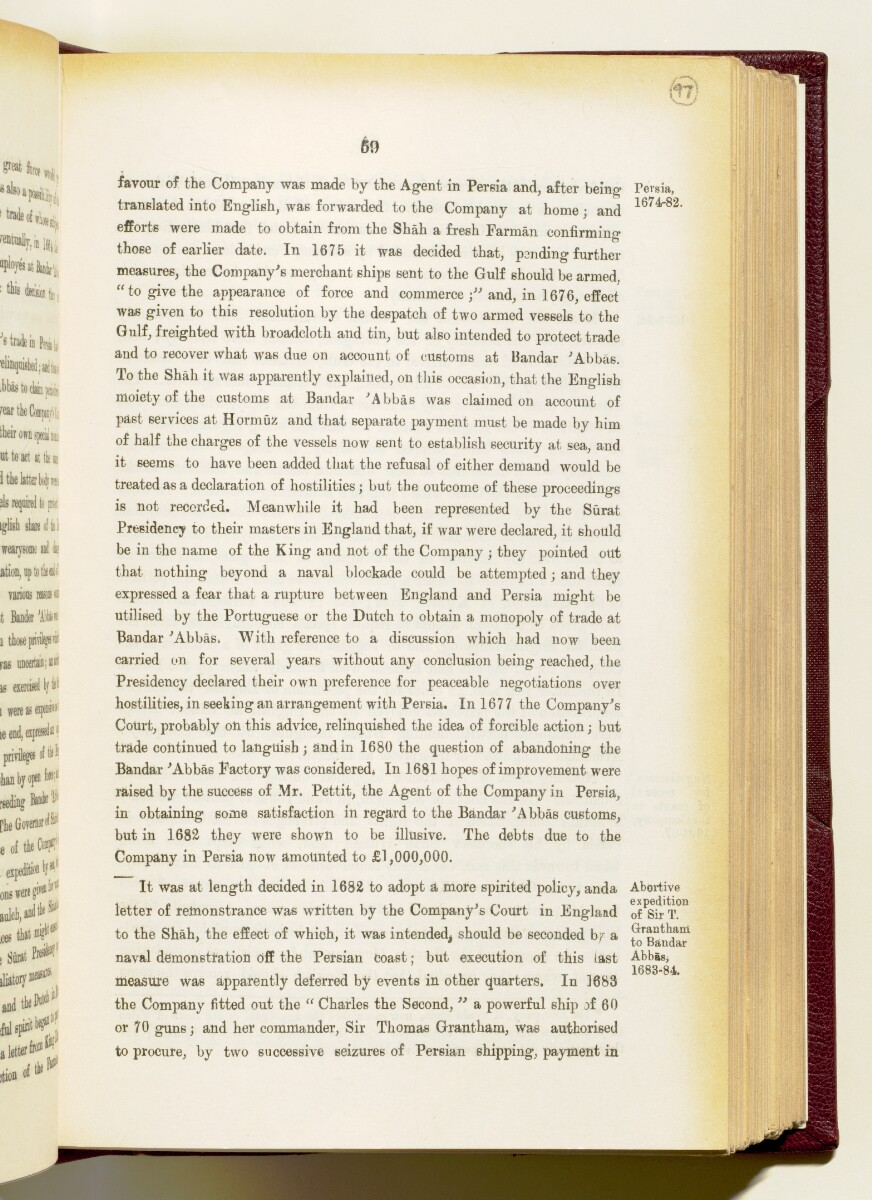 'Gazetteer of the Persian Gulf. Vol I. Historical. Part IA & IB. J G Lorimer. 1915' [‎59] (202/1782)