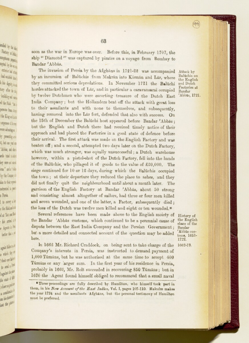 'Gazetteer of the Persian Gulf. Vol I. Historical. Part IA & IB. J G Lorimer. 1915' [63] (206/1782)