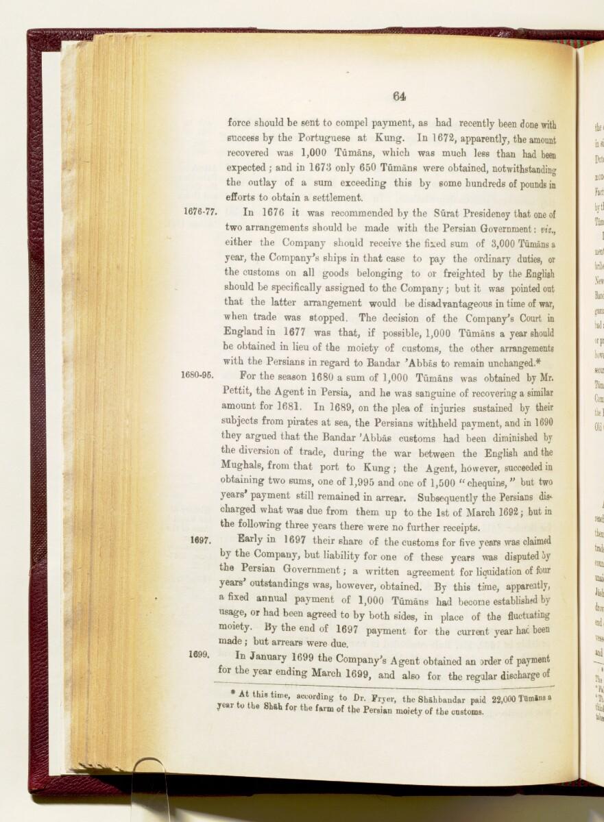 'Gazetteer of the Persian Gulf. Vol I. Historical. Part IA & IB. J G Lorimer. 1915' [64] (207/1782)