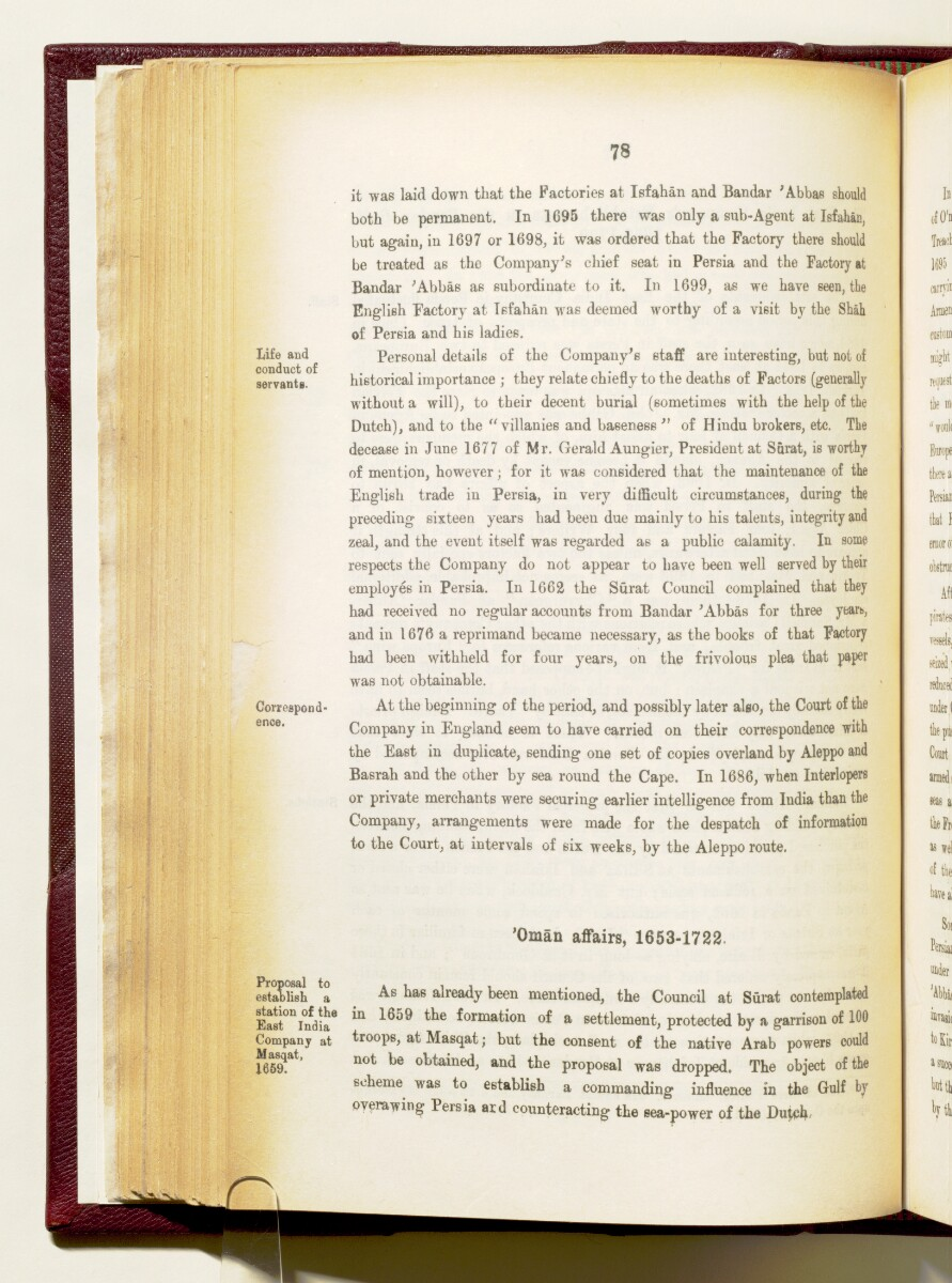 'Gazetteer of the Persian Gulf. Vol I. Historical. Part IA & IB. J G Lorimer. 1915' [‎78] (221/1782)