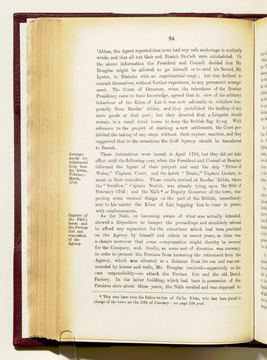 'Gazetteer of the Persian Gulf. Vol I. Historical. Part IA & IB. J G Lorimer. 1915' [94] (237/1782)