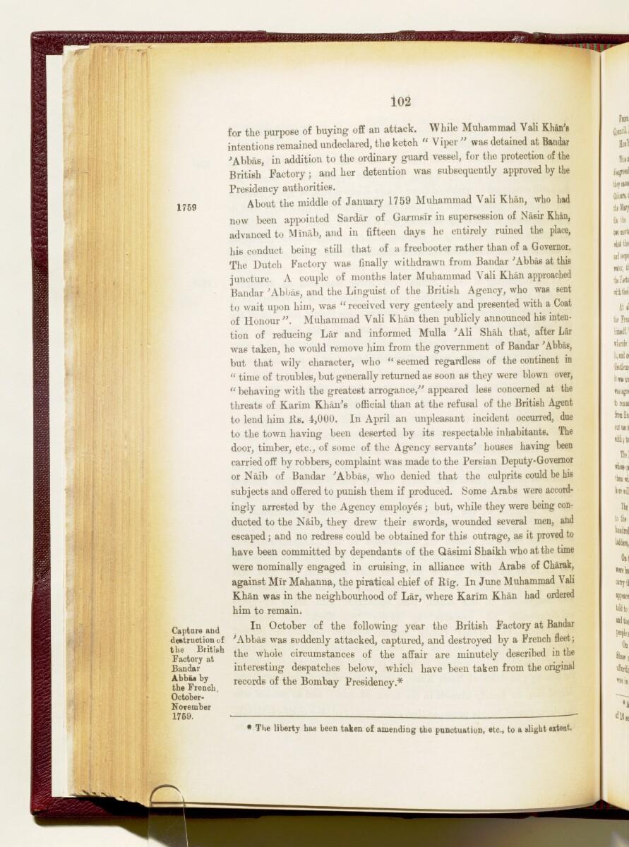 'Gazetteer of the Persian Gulf. Vol I. Historical. Part IA & IB. J G Lorimer. 1915' [102] (245/1782)