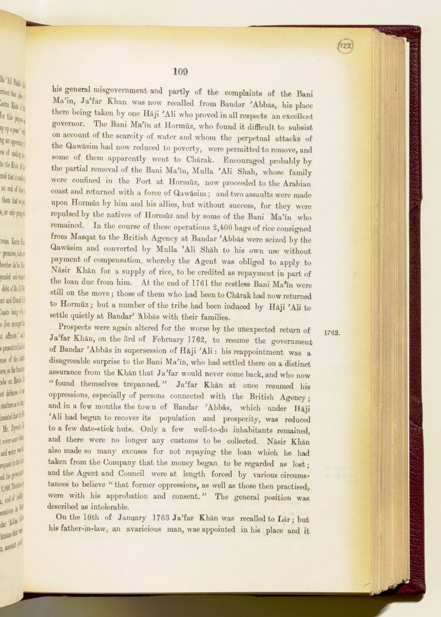 'Gazetteer of the Persian Gulf. Vol I. Historical. Part IA & IB. J G Lorimer. 1915' [109] (252/1782)