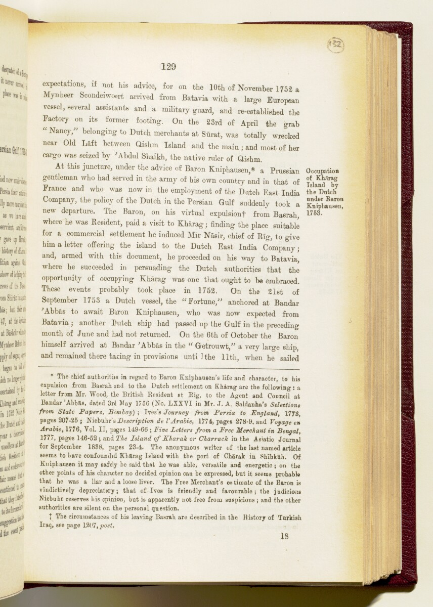 'Gazetteer of the Persian Gulf. Vol I. Historical. Part IA & IB. J G Lorimer. 1915' [129] (272/1782)