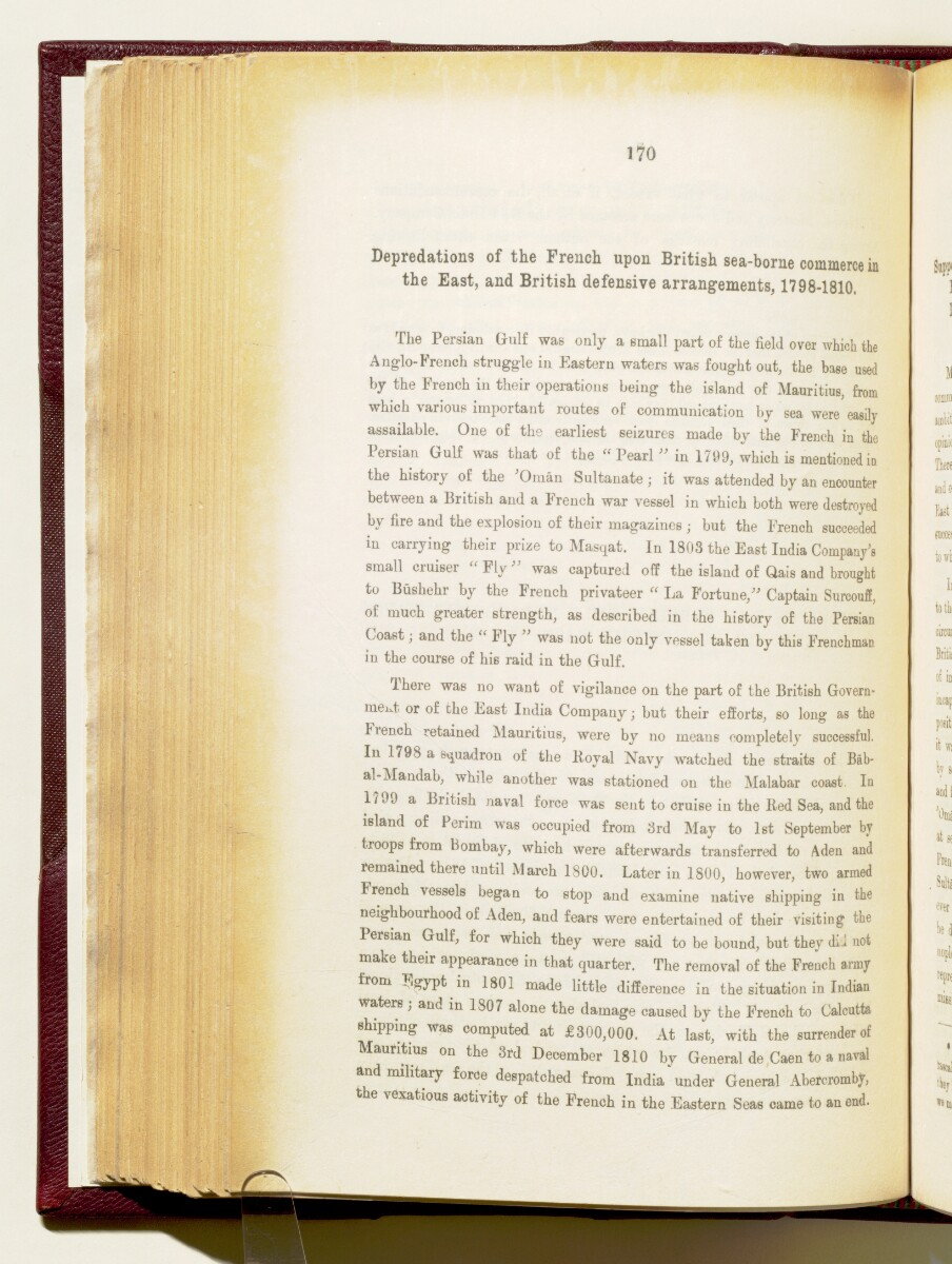 'Gazetteer of the Persian Gulf. Vol I. Historical. Part IA & IB. J G Lorimer. 1915' [170] (313/1782)