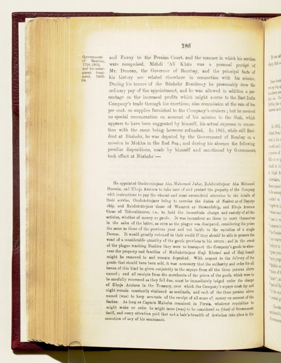 'Gazetteer of the Persian Gulf. Vol I. Historical. Part IA & IB. J G Lorimer. 1915' [‎186] (329/1782)