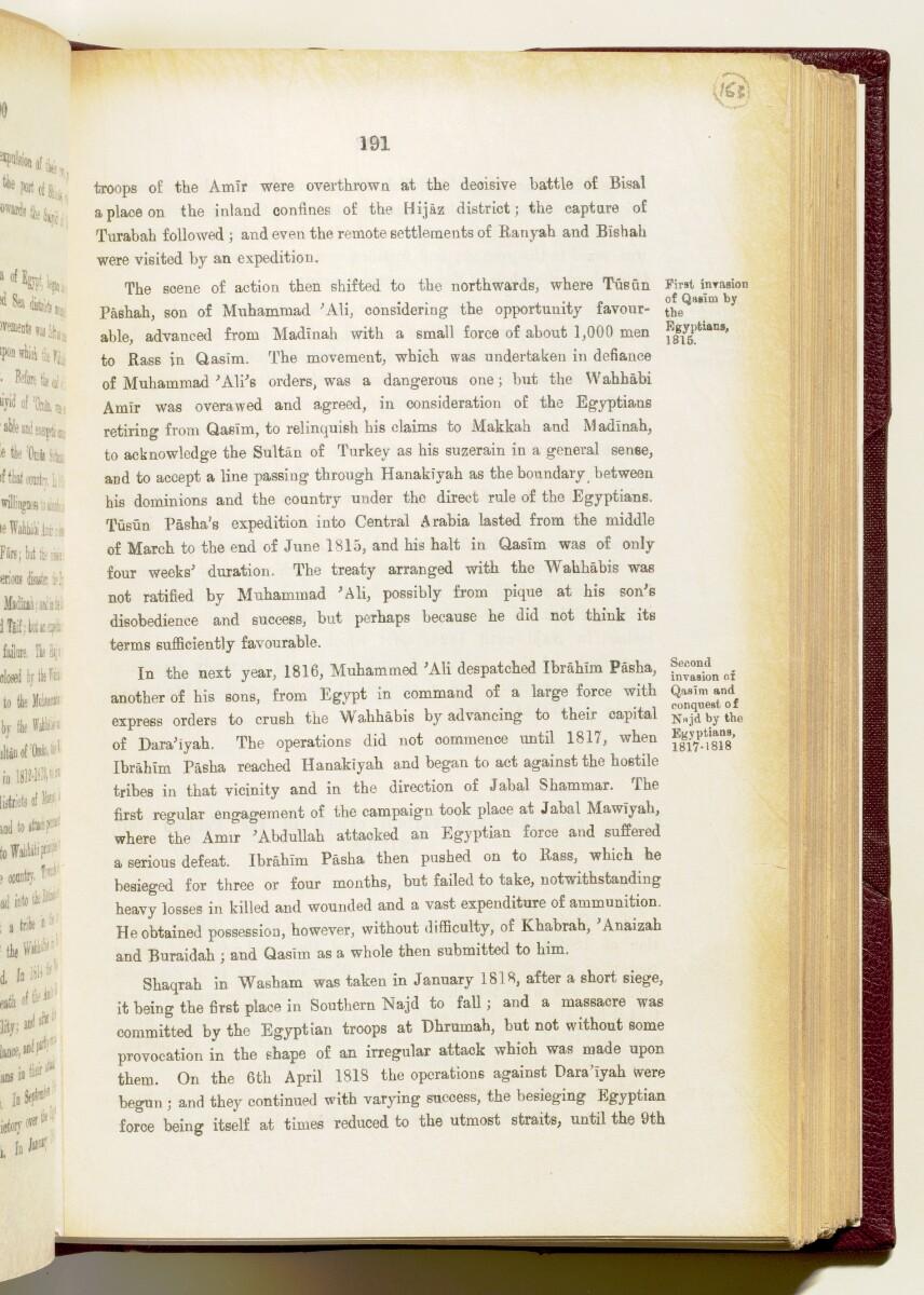 'Gazetteer of the Persian Gulf. Vol I. Historical. Part IA & IB. J G Lorimer. 1915' [191] (334/1782)