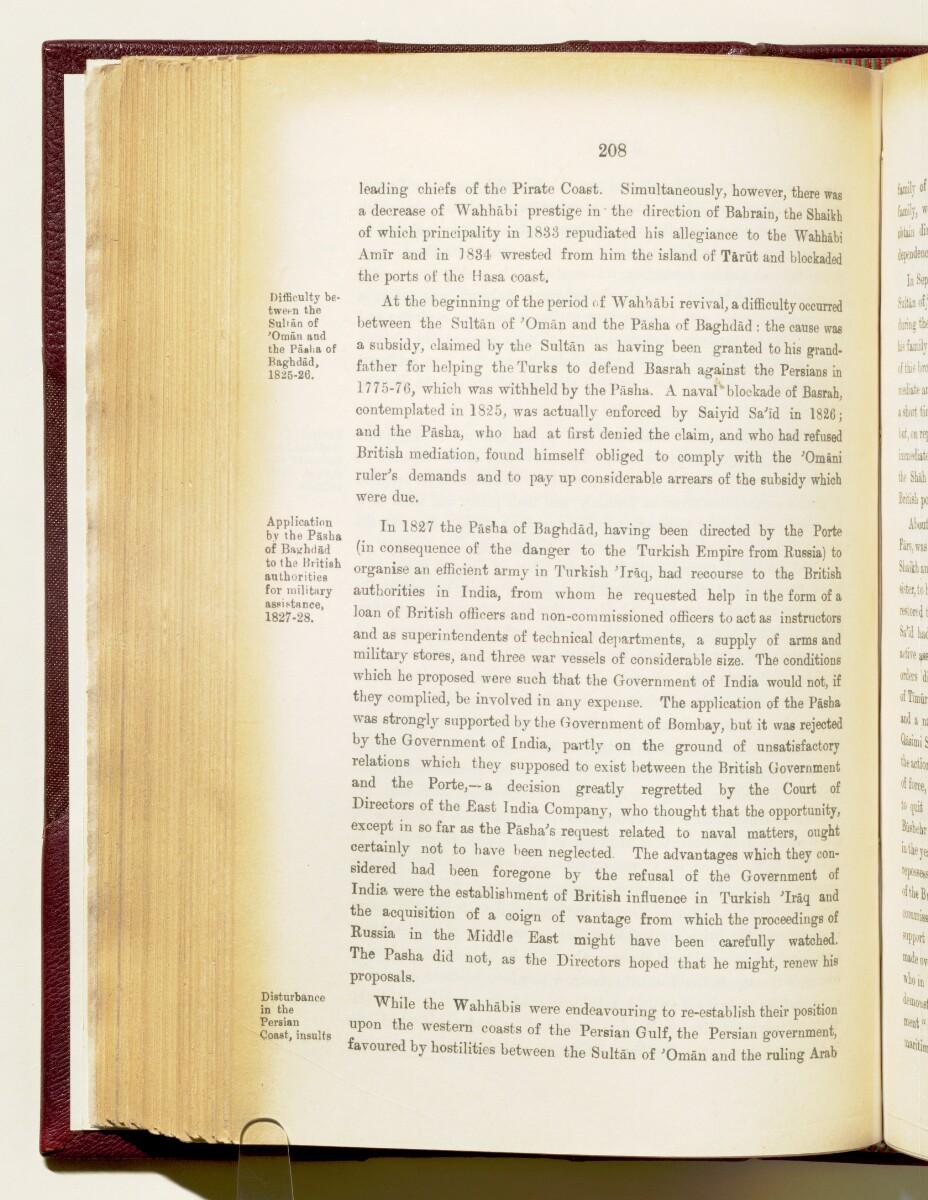 'Gazetteer of the Persian Gulf. Vol I. Historical. Part IA & IB. J G Lorimer. 1915' [208] (351/1782)