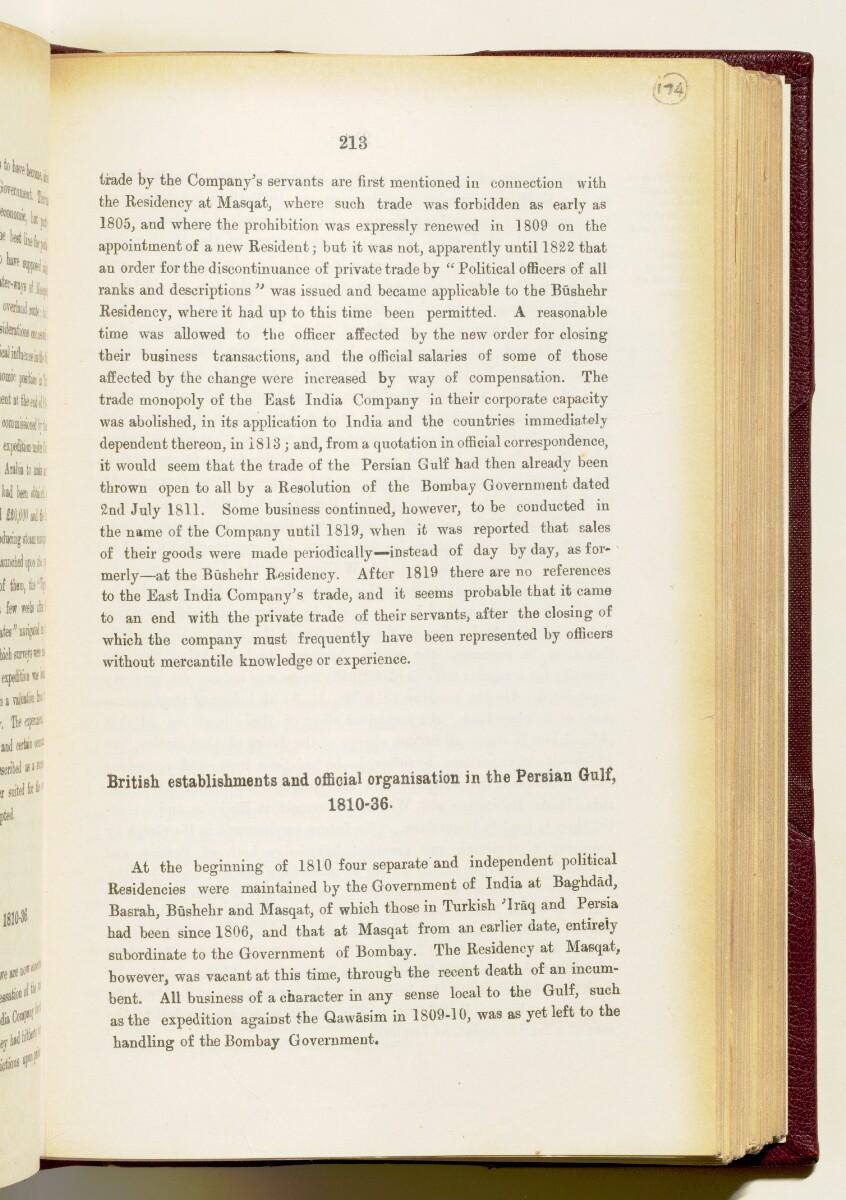 'Gazetteer of the Persian Gulf. Vol I. Historical. Part IA & IB. J G Lorimer. 1915' [213] (356/1782)