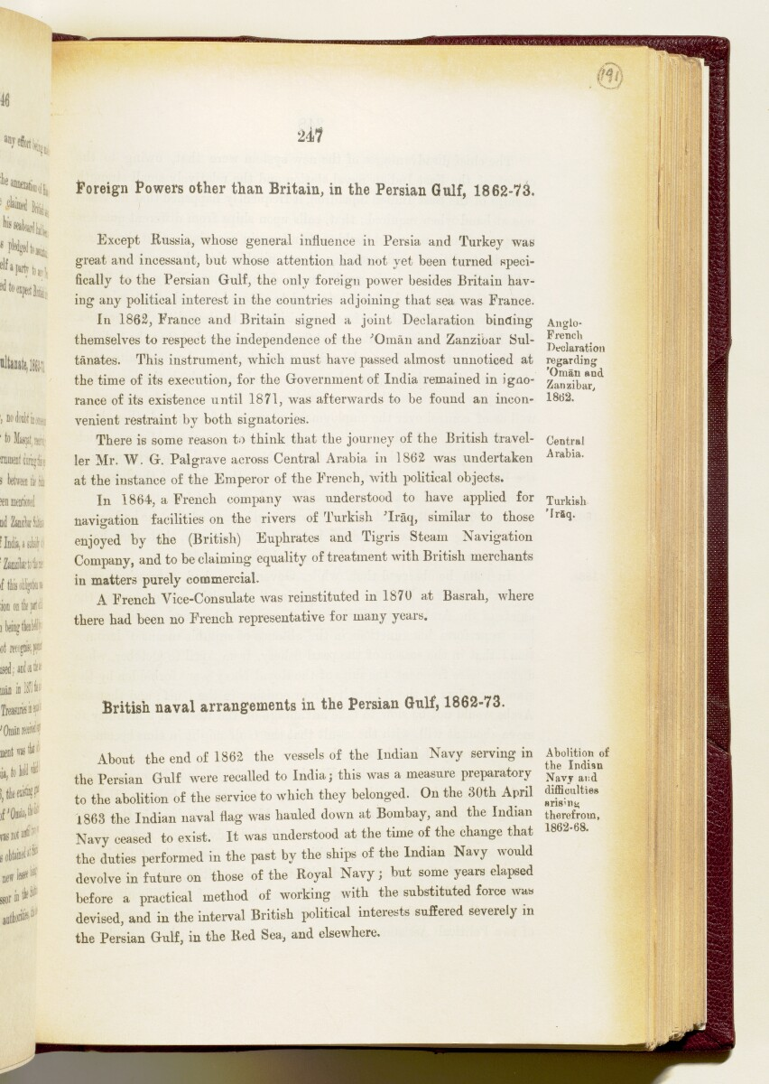 'Gazetteer of the Persian Gulf. Vol I. Historical. Part IA & IB. J G Lorimer. 1915' [‎247] (390/1782)
