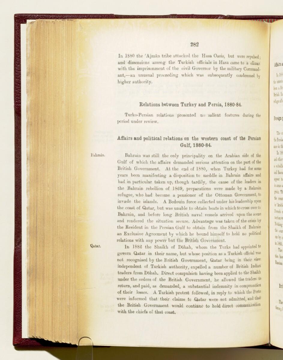 'Gazetteer of the Persian Gulf. Vol I. Historical. Part IA & IB. J G Lorimer. 1915' [282] (425/1782)