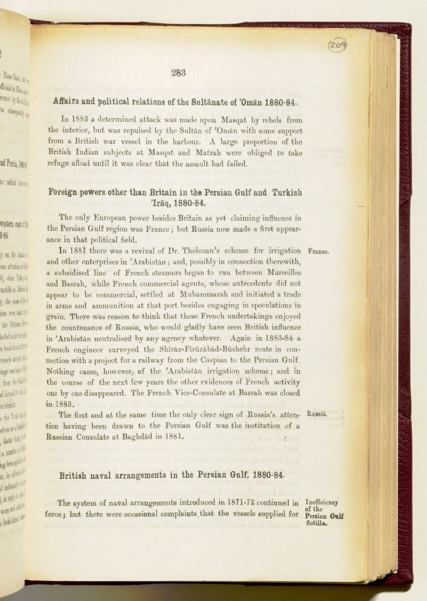 'Gazetteer of the Persian Gulf. Vol I. Historical. Part IA & IB. J G Lorimer. 1915' [283] (426/1782)