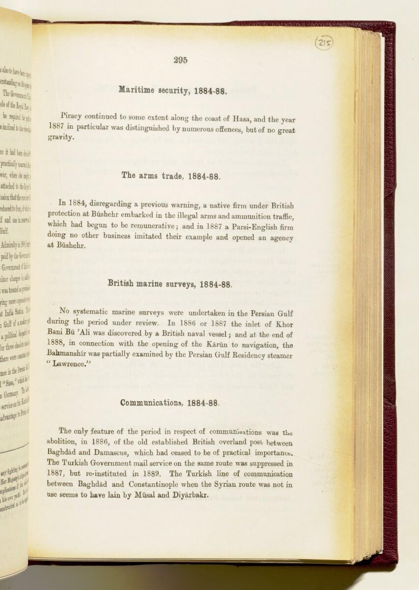 'Gazetteer of the Persian Gulf. Vol I. Historical. Part IA & IB. J G Lorimer. 1915' [295] (438/1782)