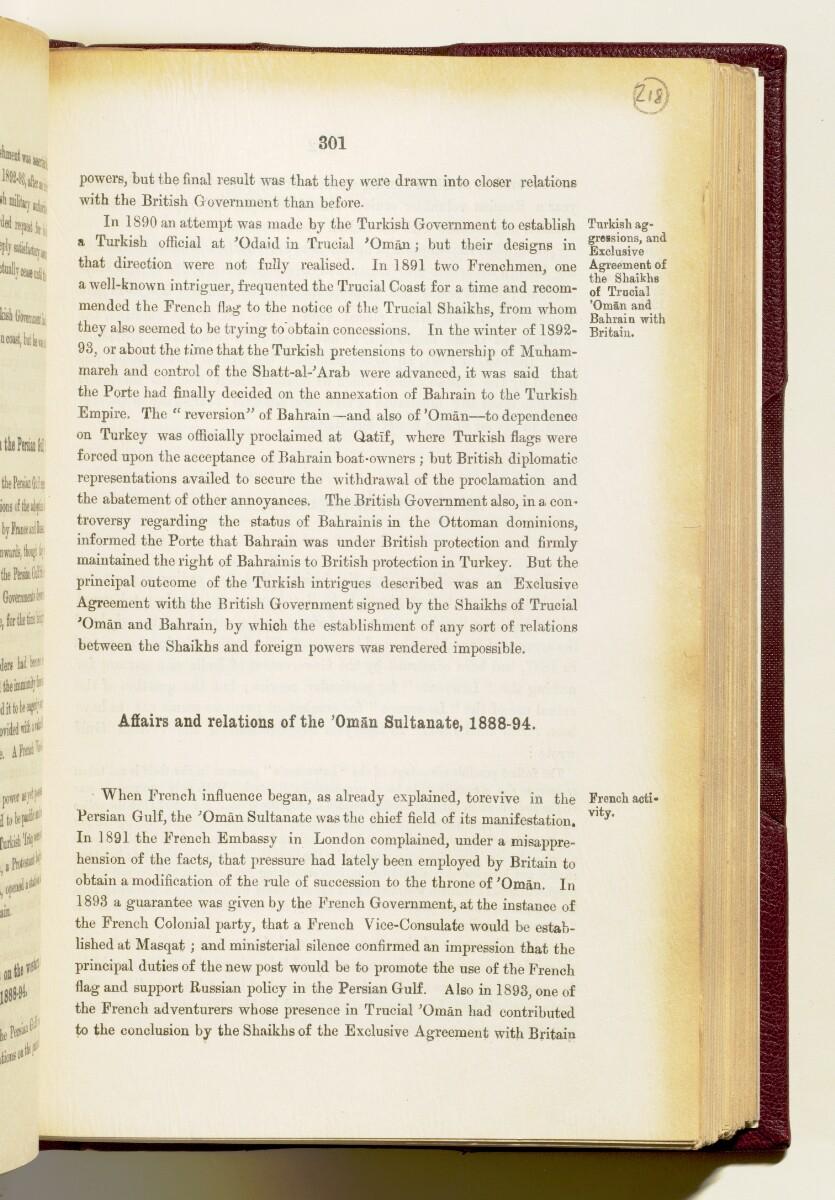 'Gazetteer of the Persian Gulf. Vol I. Historical. Part IA & IB. J G Lorimer. 1915' [301] (444/1782)
