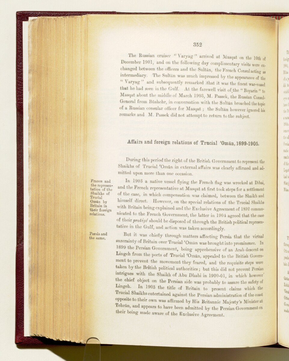 'Gazetteer of the Persian Gulf. Vol I. Historical. Part IA & IB. J G Lorimer. 1915' [352] (495/1782)