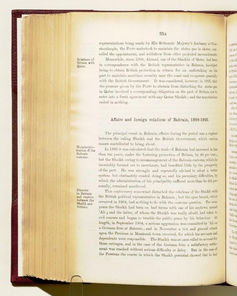 'Gazetteer of the Persian Gulf. Vol I. Historical. Part IA & IB. J G Lorimer. 1915' [354] (497/1782)