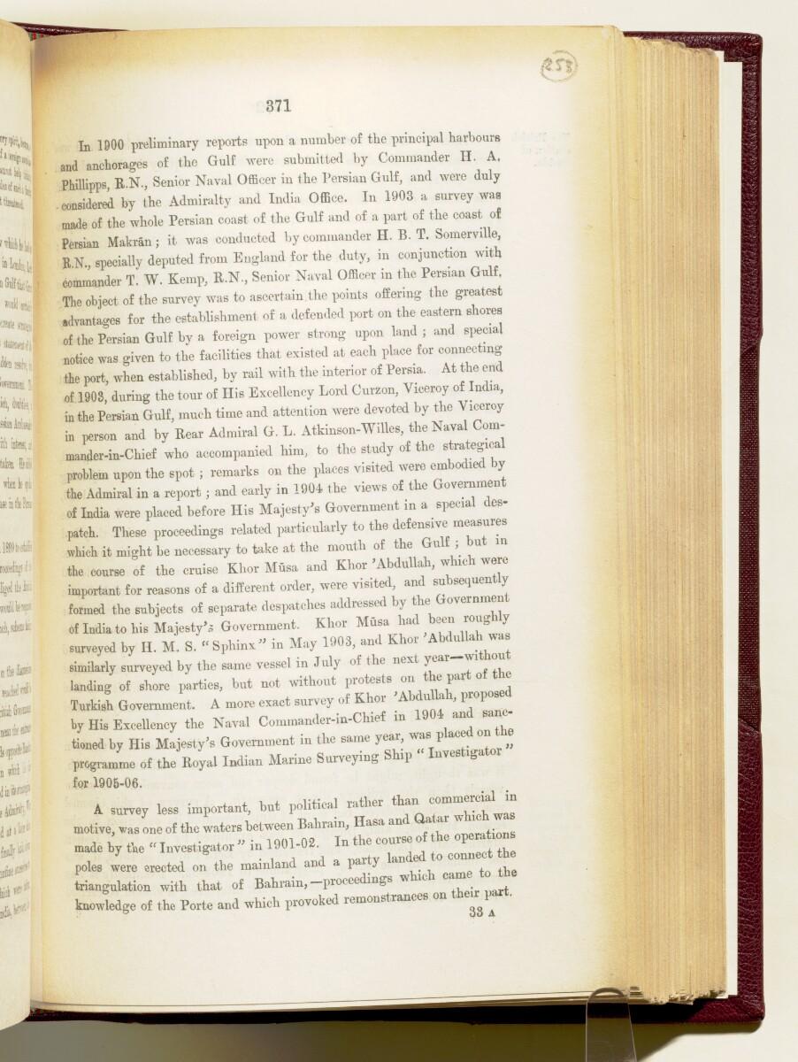 'Gazetteer of the Persian Gulf. Vol I. Historical. Part IA & IB. J G Lorimer. 1915' [371] (514/1782)